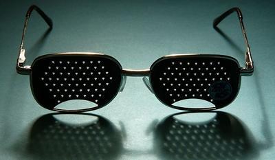 Очки в дырочку для улучшения зрения – отзывы про перфорационные для глаз