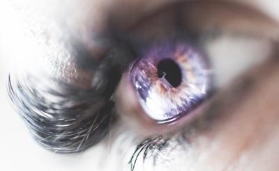 Вспышки в глазу сбоку