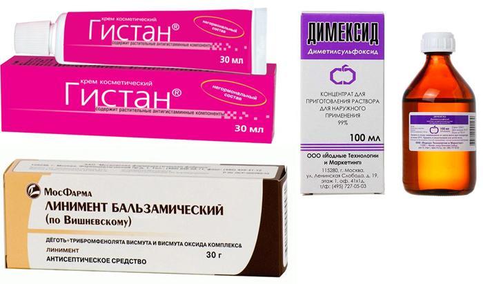 Лекарственные препараты от жировиков на веках