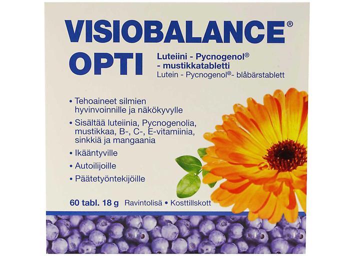 Витамины для глаз Визиобаланс Опти