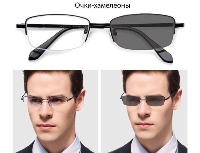 Что такое очки-хамелеоны
