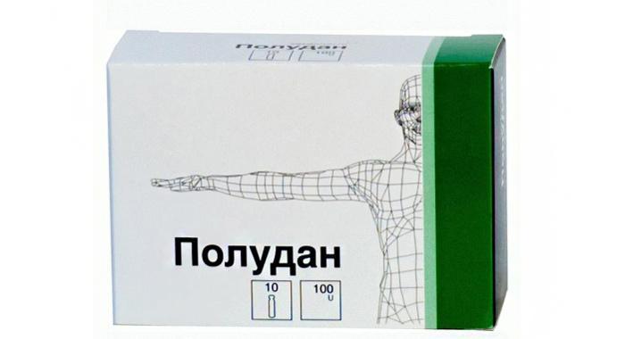 Глазные капли Полудан