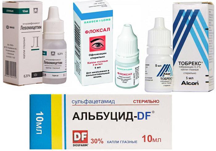 Лекарственные препараты при дакриоцистите у новорожденных