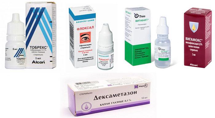 Глазные капли для лечения дактриоцистита у новорождённых детей