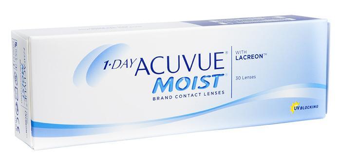 Контактные линзы 1-Day Acuvue Moist