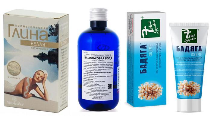 Лекарственные препараты для устранения синяков под глазами