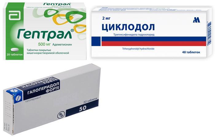 Медикаменты для устранения подёргивания глаза