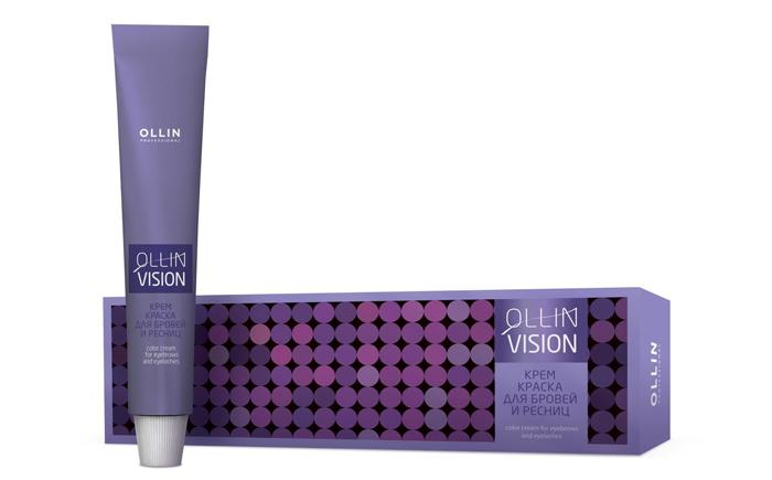 Краска для бровей и ресниц Ollin Vision