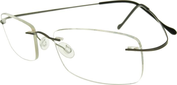 Безободковая оправа для очков