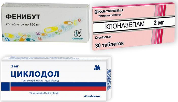 Лекарства, назначаемые при лечении глазного тика