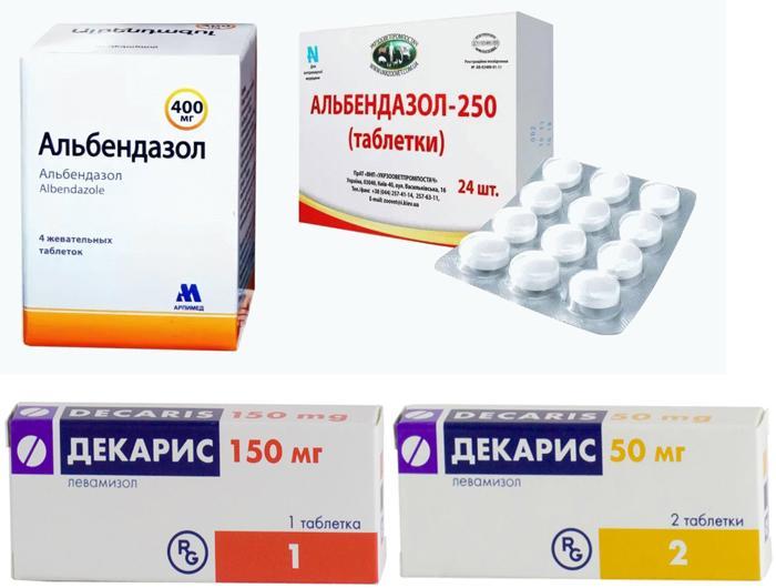 Медикаменты для лечения глистов у грудничка
