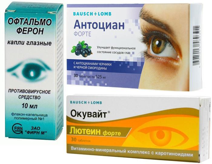 Аналоги глазных капель Офтальмикс