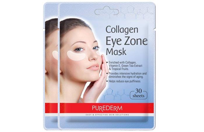 Маска Purederm Collagen Eye Zone Mask