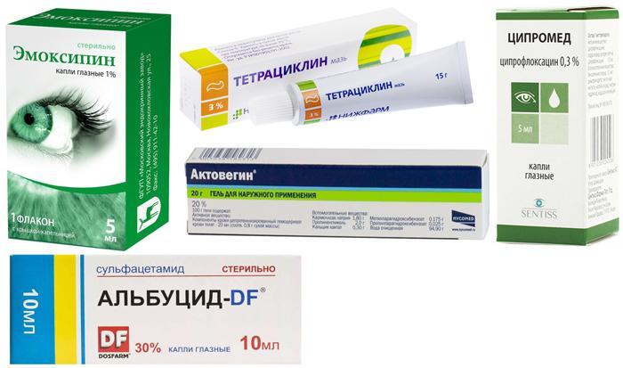 Популярные препараты от патологий роговицы глаза