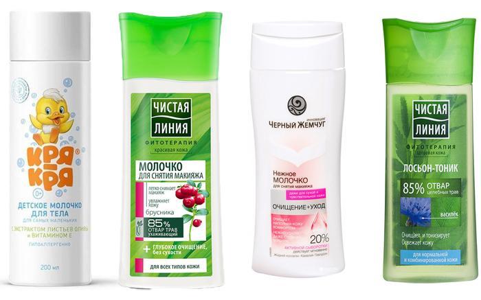 Популярные средства для снятия макияжа