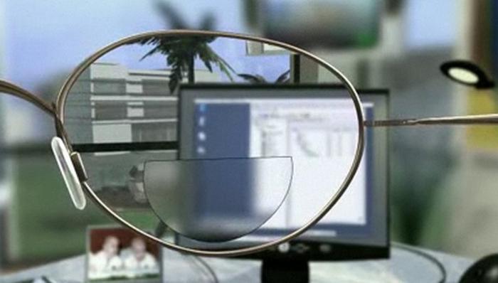 Бифокальные компьютерные очки
