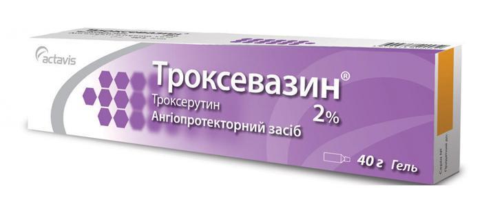 Глазной гель Троксевазин