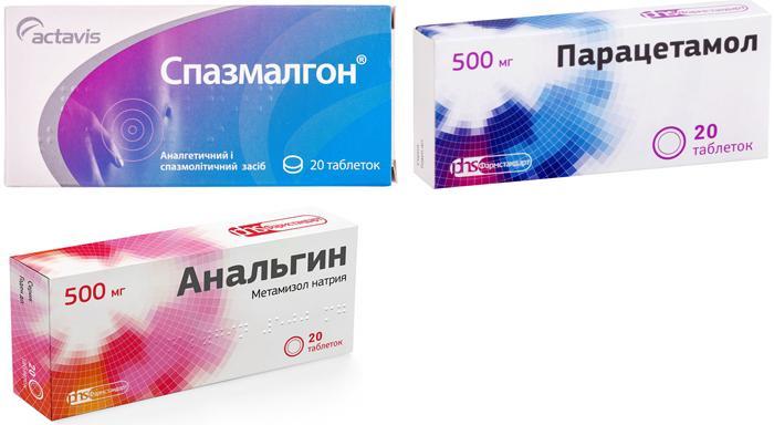 Обезболивающие препараты при боли в глазу от удара
