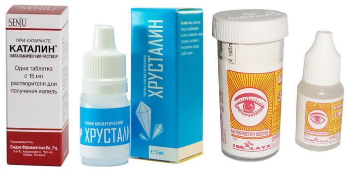 аналоги глазных капель Isotine