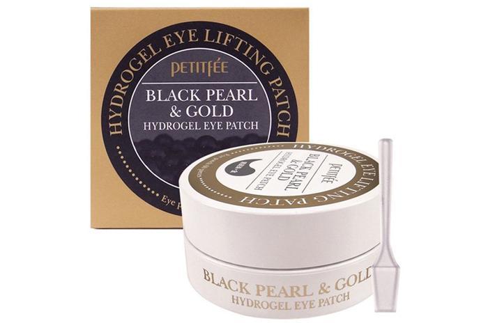 Патчи под глаза Petitfee Black Pearl & Gold