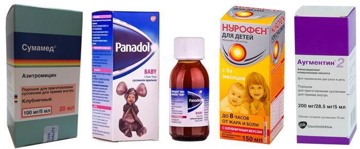 Медикаменты для детей при патологическом зуде в глазах