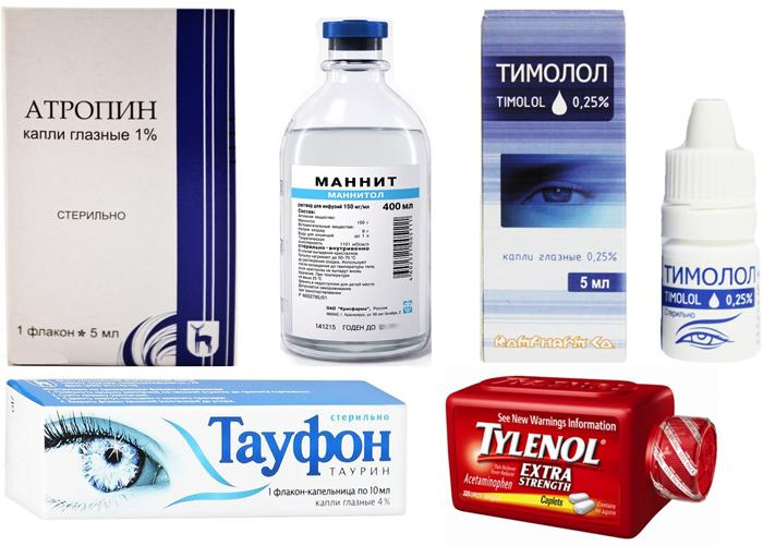 Медикаментозное лечение гифемы