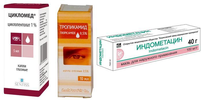 Препараты для лечения акантамёбного кератита