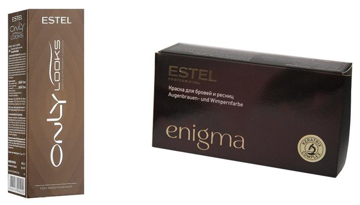 Краски для ресниц Estel Only looks и Enigma