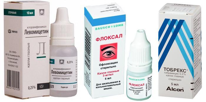 Специализированные глазные капли для новорожденных