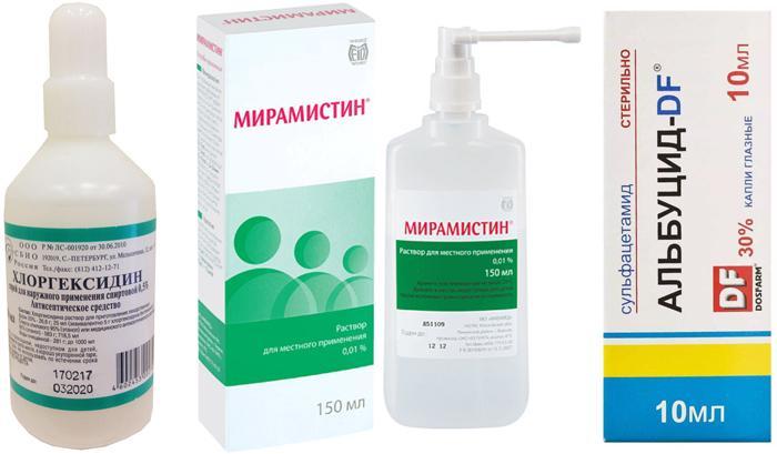 Аналоги Фурацилина при лечении конъюнктивита