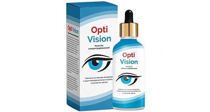 Глазные капли OptiVision