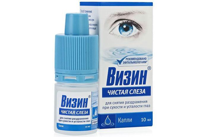 """Глазные капли """"Визин чистая слеза"""""""