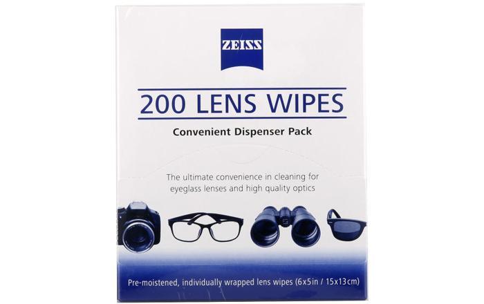 Одноразовые салфетки для очистки линз очков