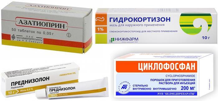 Лекарственные препараты при хориоидитах