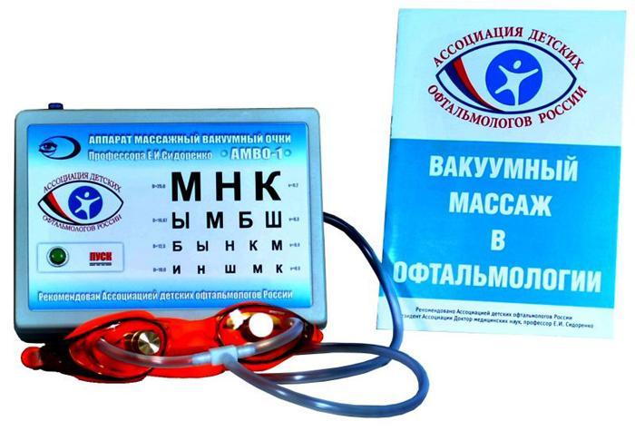 Вакуумные очки Сидоренко