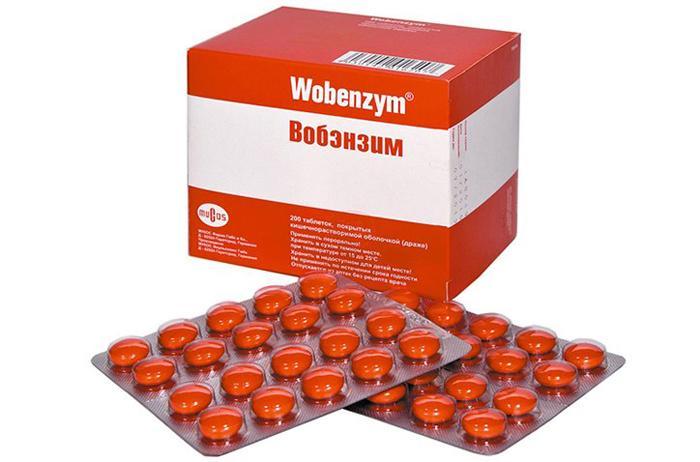 Лекарственный препарат для глаз Вобэнзим