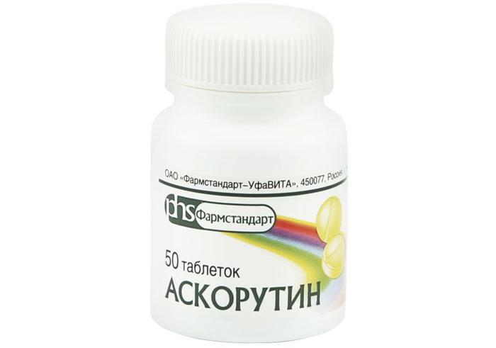 Лекарственный препарат Аскорутин