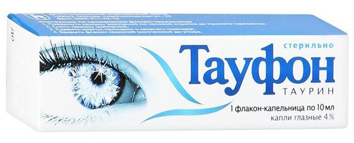 Глазные капли Тауфон