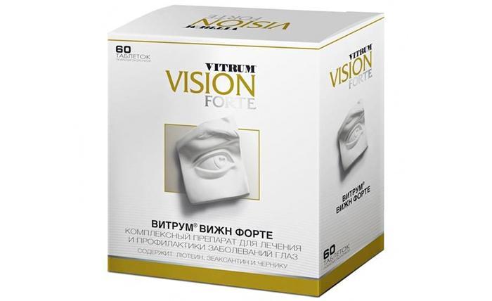 Витамины для глаз Vitrum Vision Forte