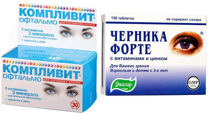 Аналоги препарата Vitrum Vision Forte