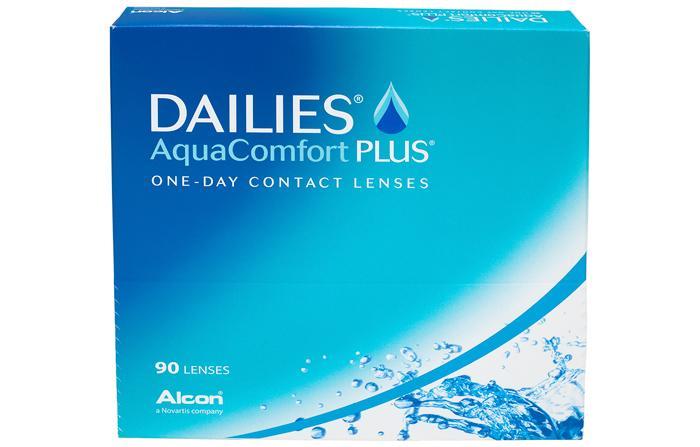 Контактные линзы DAILIES AquaComfort Plus