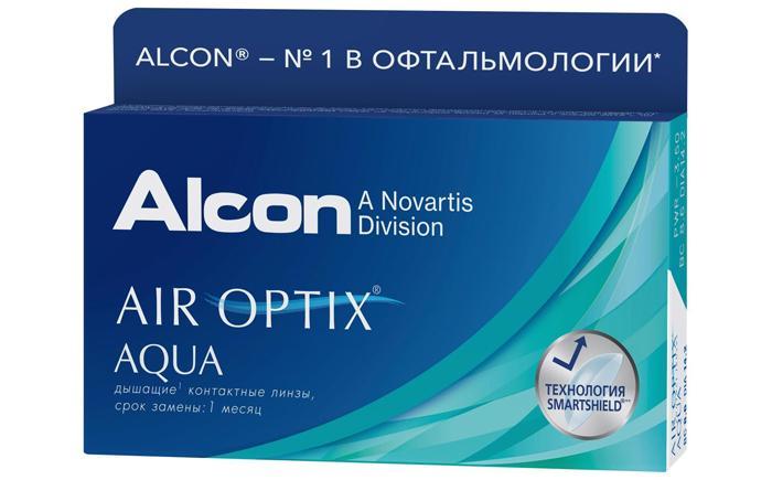 Контактные линзы Air Оptix Aqua