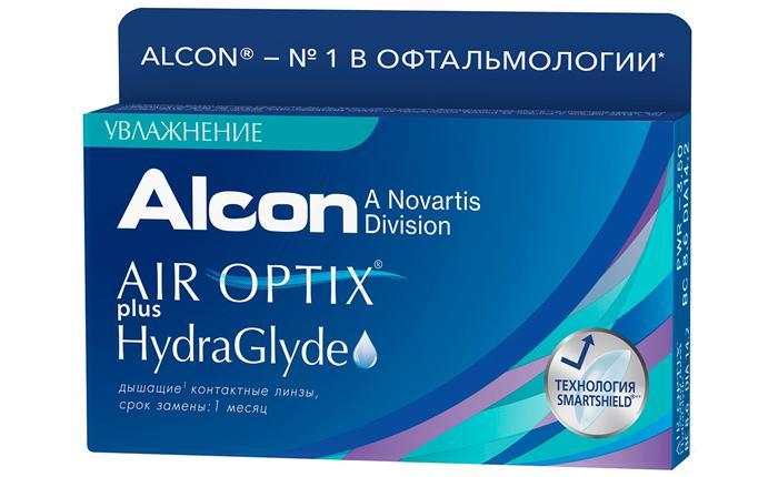 Контактные линзы Air Оptix Hydraglyde