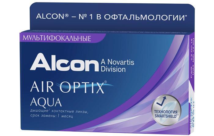 Линзы Air Оptix Multifocal