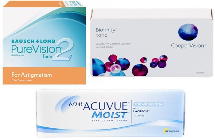 Аналоги линз Acuvue Oasys for astigmatism