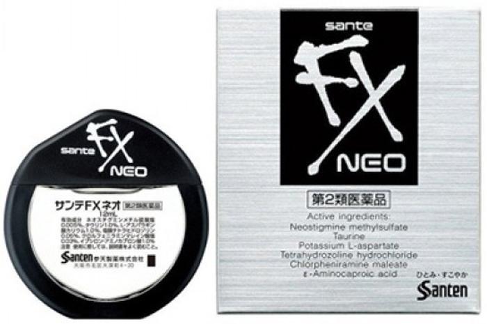 Глазные капли Sante FX Neo