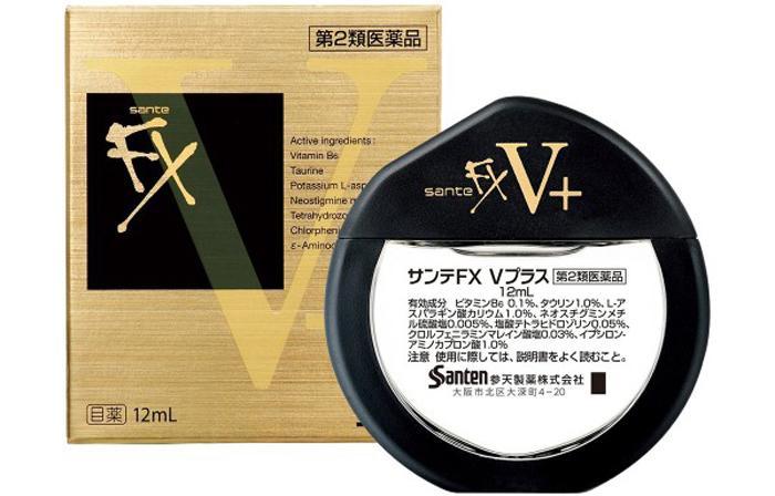 Глазные капли Sante FX V+