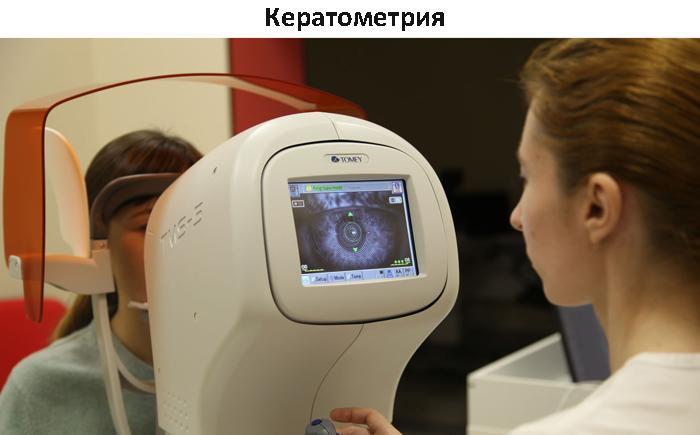 Кератометрия глаза