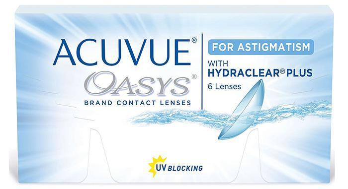 Контактные линзы Acuvue Oasys for astigmatism