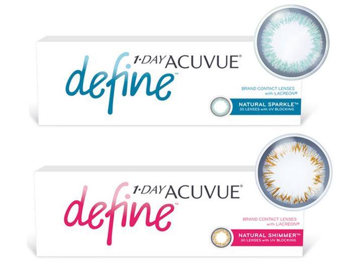 Контактные линзы 1-Day Acuvue define